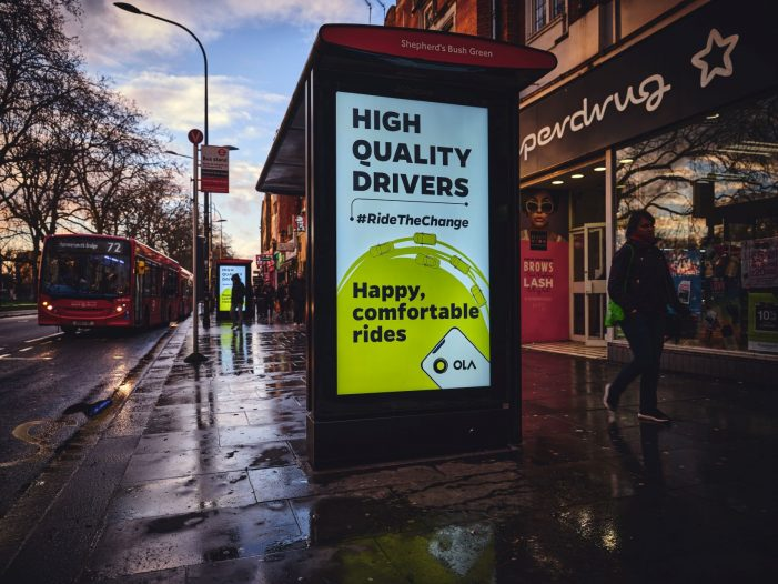 Media Agency Group Reveals Ola's London Media Campaign To Disrupt The UK Ride-Hailing App Market