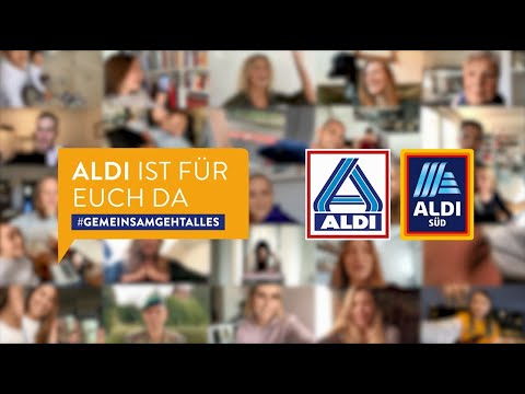 ALDI launches integrated campaign  – #gemeinsamgehtalles – to thank employees in the wake of Coronavirus in Germany #TogetherEverythingIsPossible:
