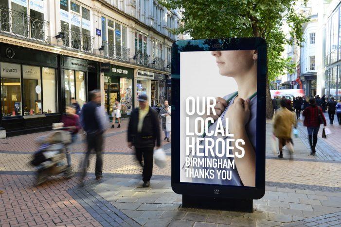 Frontline heroes celebrated across Ocean's digital screens