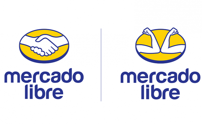 "Mercado Libre changed its historic ""HandShake"" logo to raise awareness about the Coronavirus"