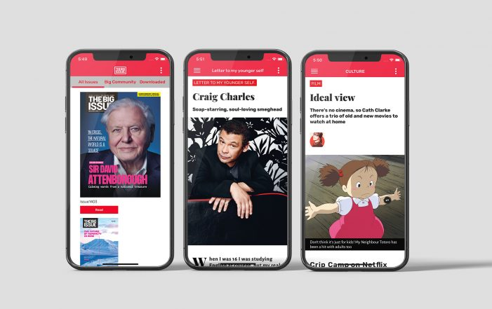 The Big Issue Launches New APP In Partnership With Pugpig To Support Vendors