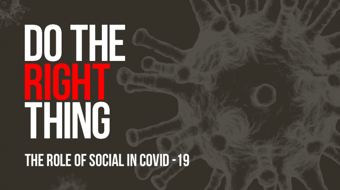 Do The Right Thing: We Are Social report examines the role of social in Covid-19