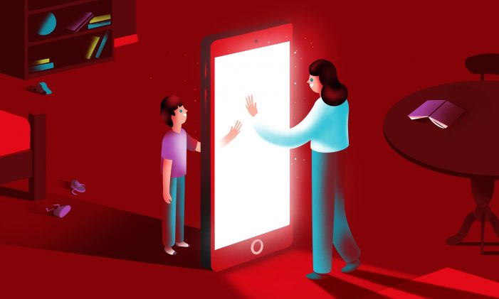 Guardian Labs partners with Vodafone on a multi-platform campaign celebrating how families can keep connected and entertained during these times