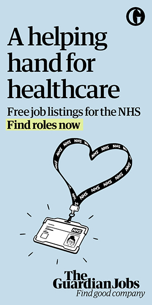 Guardian Jobs launches a new marketing campaign to support its initiative to give free job ads for NHS listings
