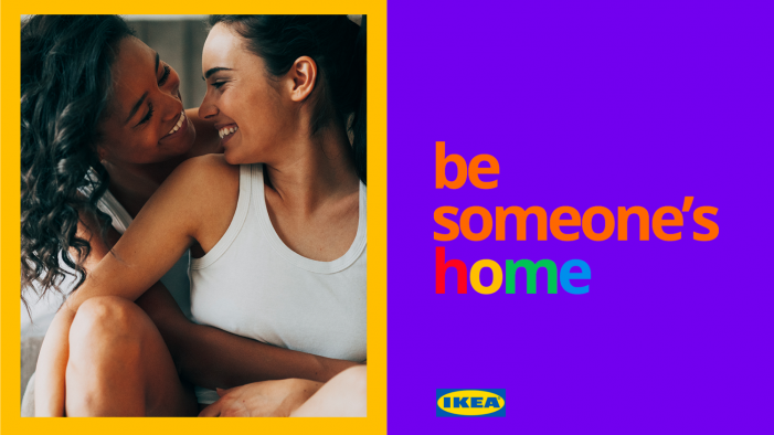 IKEA invites everyone to 'feel at home' for the LGBT+ community  in new campaign