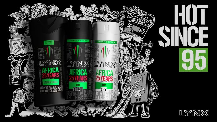 LYNX Africa celebrates 25 years with Limited Edition Range by PB Creative