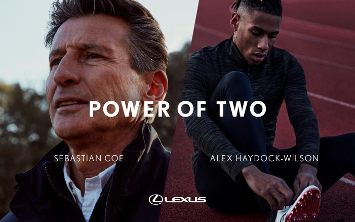 Digitas UK brings together two generations of outstanding athletes in a new film for Lexus, The Power of Two