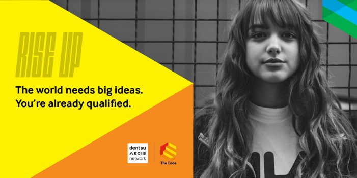 Dentsu Aegis Network's flagship schools programme The Code launches digital curriculum in response to COVID-19