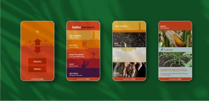 Pearlfisher redesigns Haller Farmers App: Helping Kenyan farmers release the riches of their land