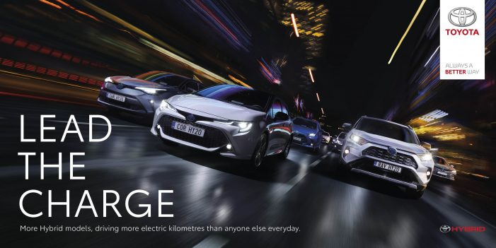 Lead The Charge, Choose Toyota Hybrid