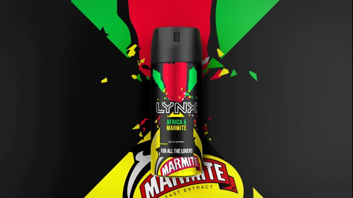 LYNX Africa collides with Marmite for bold new range designed by PB Creative