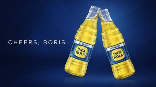 McCann Lima and Inca Kola invite UK Prime Minister to make a toast