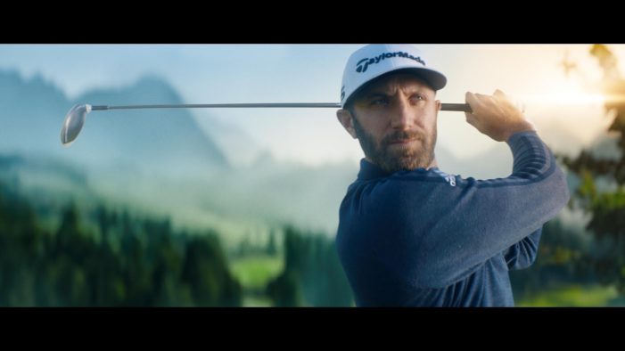 Golf is Back!  Dustin Johnson Tees off in New Campaign for RBC