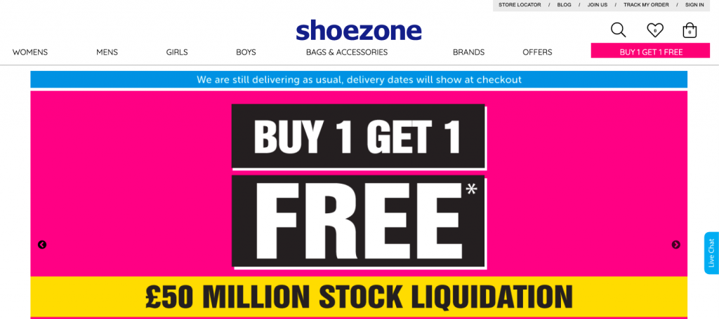 How Shoe Zone took its offline business