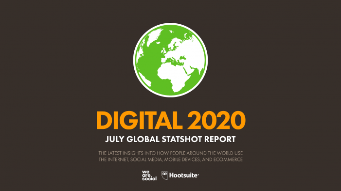 Digital 2020: More than half of the people on Earth now use social media