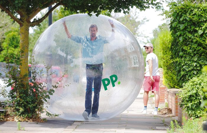Paddy Power teams up with Peter Crouch To Create World's Most Covid-Compliant Football Party