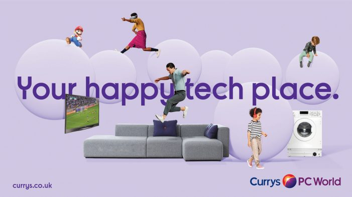 New branding for Currys PC World welcomes customers into a bright new world
