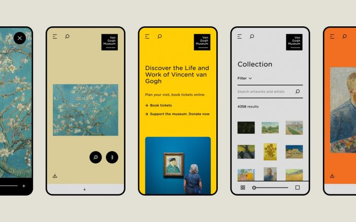The Van Gogh Museum Relaunches its Website  as an Experiential Platform