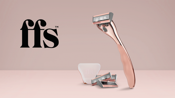 Beauty is effortless in new branding for FFS women's shaving  by Free The Birds