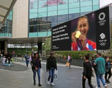 Ocean Outdoor and Team GB celebrate Golden Moments of past Olympics in outdoor showcase