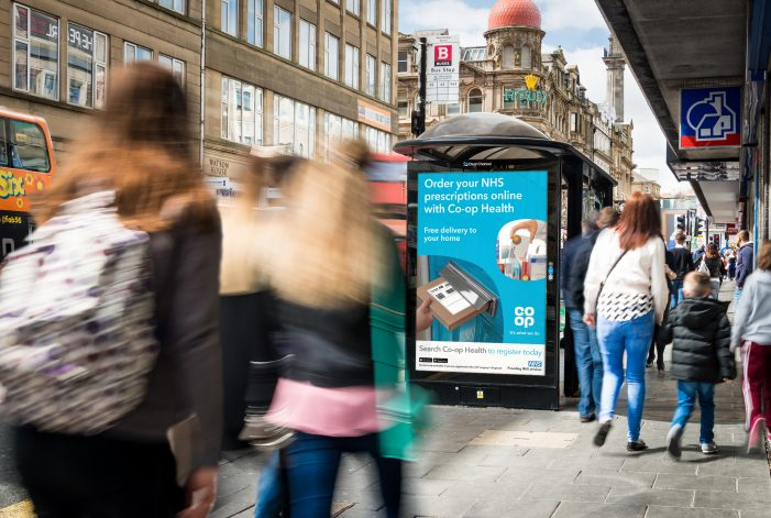 CO-OP Health Applies A Dose Of Geo-Targeting To Out Of Home To Launch Its NHS Prescription Delivery Service