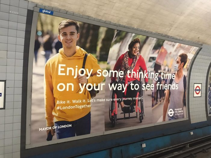 "VCCP and Transport for London launch new campaign ""Now's the time"""