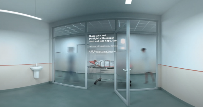 Cheil Romania creates 3D Facebook story showing cancer patients losing out to Covid-19