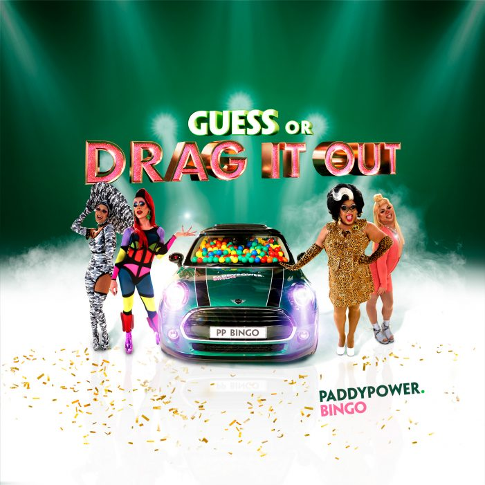 Sashay Giveaway: Paddy Power Bingo Team Up With Drag Race Stars In 5 Hour 'GUESS OR DRAG IT OUT' Game Show