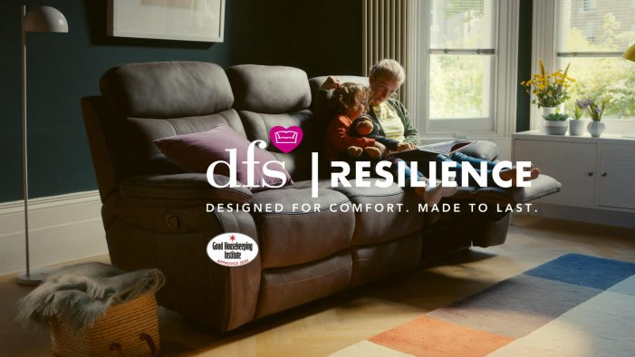 KROW Creates Campaign Highlighting New Exclusive Hard Wearing 'Resilience' Fabric Range From DFS