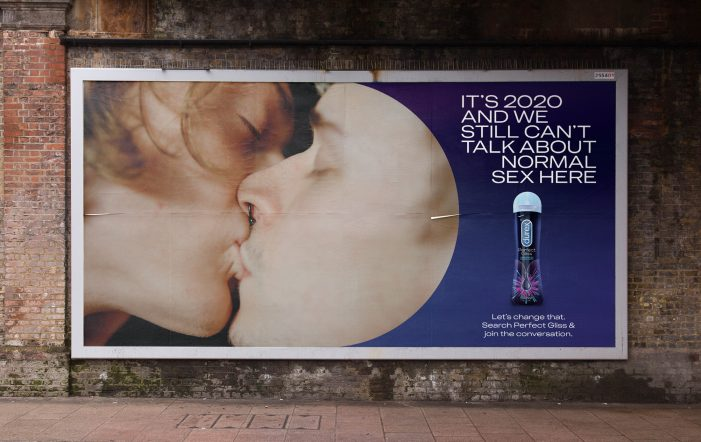 Durex's New Campaign About Anal Sex Doesn't Talk About Anal Sex (Because It Can't Talk About Anal Sex)