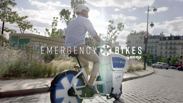 Wunderman Thompson and Ecox launch Emergency Bikes – An Electric Bike Designed By and For Doctors