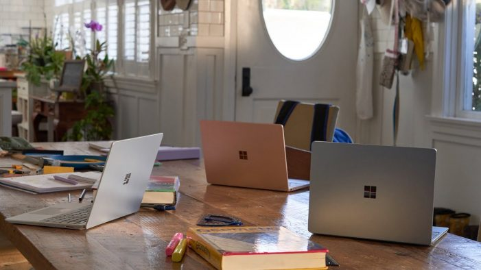 Microsoft & Blk-Ops show the Surface Laptop Go powering creativity in the home