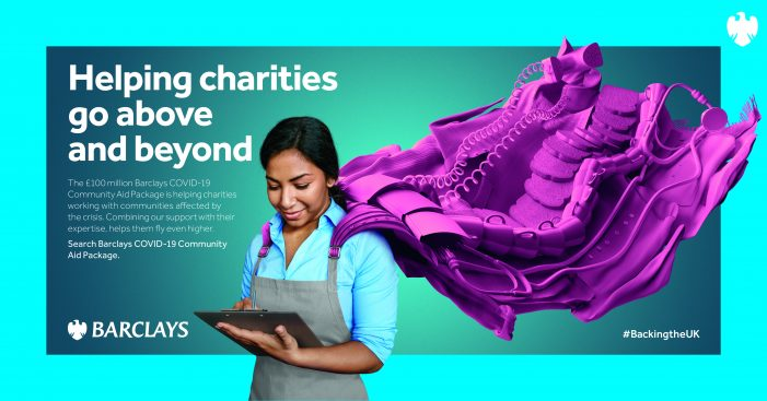 Barclays partners with M&C Saatchi on London Underground creative as it gifts ad space to charities Age UK, Family Action, Macmillan and Refuge