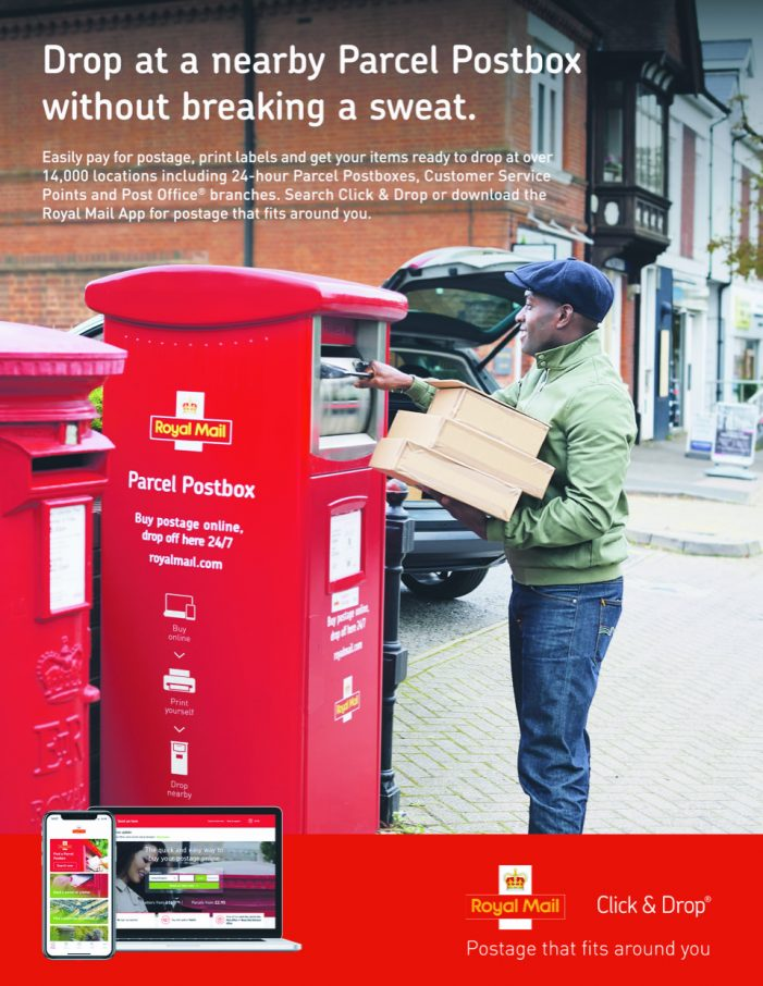 MBA, Arena Media and Rapport Ltd develop integrated campaign for Royal Mail to raise awareness of online postage offering