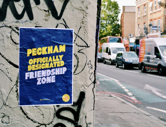 Two Unemployed Junior Creatives Create Zero Budget Campaign To Uplift People And Business In Peckham
