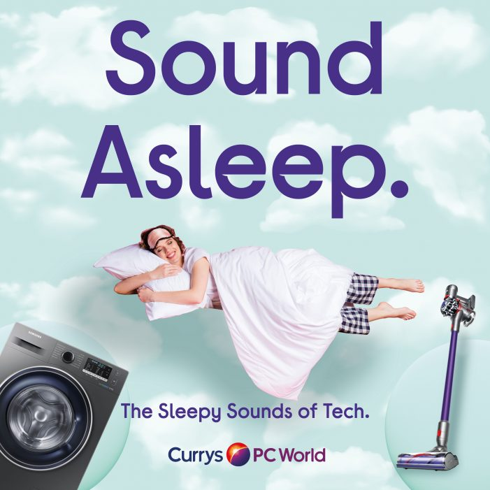 Sound Asleep? CURRYS PC WORLD releases Tech Sounds Album To Help The Nation Nod Off