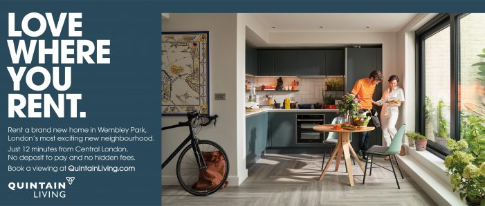 Joint launches major integrated campaign for premium rental lifestyle brand Quintain Living