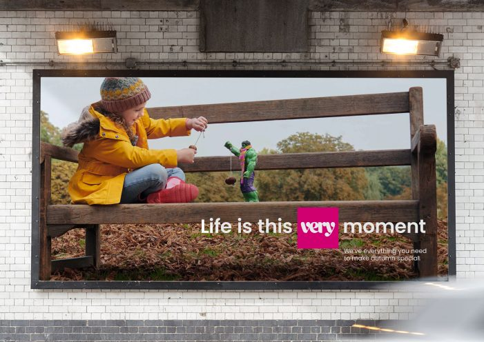 Very.co.uk celebrates life now with a new creative platform by Grey London