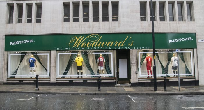 Ed-Line Day: Paddy Power Unveil Window Shopper Tribute To Ed Woodward in Manchester