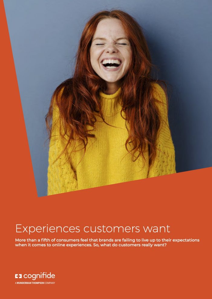 Over a fifth of UK consumers feel brands are failing to live up to expectation when it comes to online experiences
