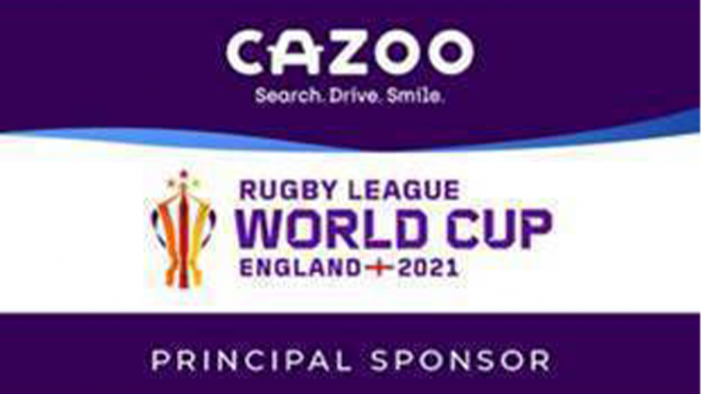 CAZOO To Become Principal Sponsor Of Rugby League World Cup 2021