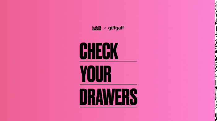 "giffgaff launches anti-consumerist push across LADbible and UNILAD channels as it invites people to ""Check Your Drawers"" for old mobile phones ahead of Black Friday"
