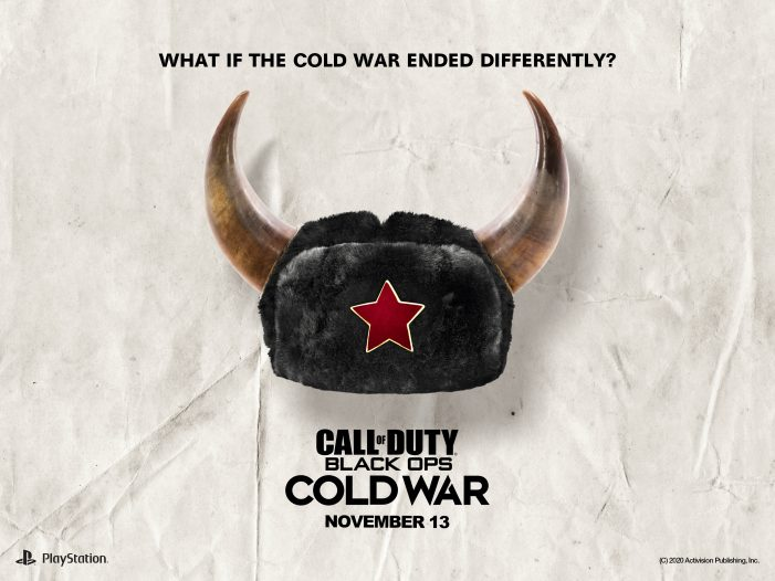 """""""What if the Cold War ended differently?"""" by Activision / Call of Duty."""