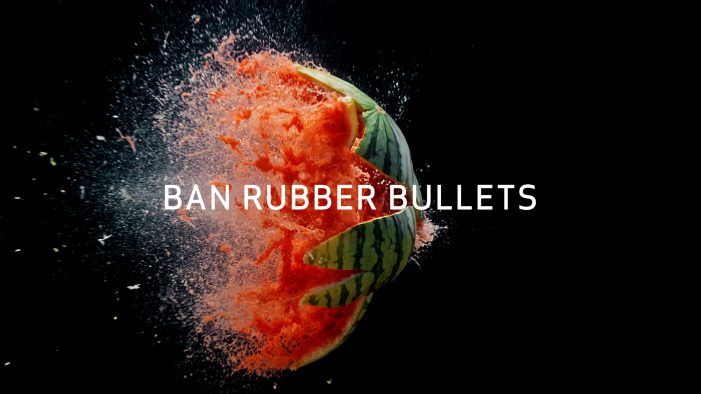 Wunderman Thompson PSA Uses Watermelon, Wine Glass to Show Devastating Effects of Rubber Bullets