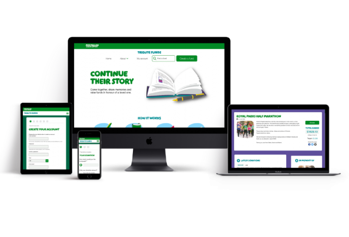 MACMILLAN CANCER SUPPORT Creates new Online Tribute Fund Following Digital Overhaul By WPNC Digital