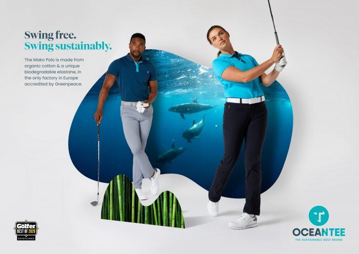 New campaign from sustainable golf brand OCEANTEE as it sponsors Cyprus Tour events