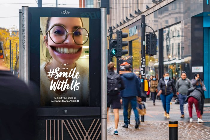 Be On a Billboard: Ocean Gives The Nation Something To Smile About