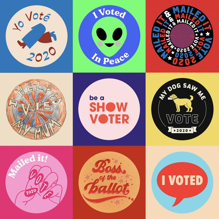 Wunderman Thompson Taps Designers All Over the Country to Celebrate Voters and Raise Money for Vote.Org