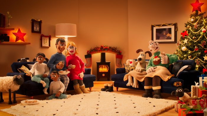 "DFS and krow launch ""A Comfy Carol"" with help from Aardman's much-loved Wallace & Gromit characters"