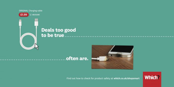 St Luke's new advertising campaign for Which? helps consumers shop safely this sales season